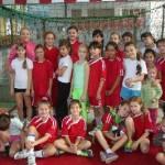 Команда девушек г. Астрахани — серебряный призер Всероссийского турнира по гандболу