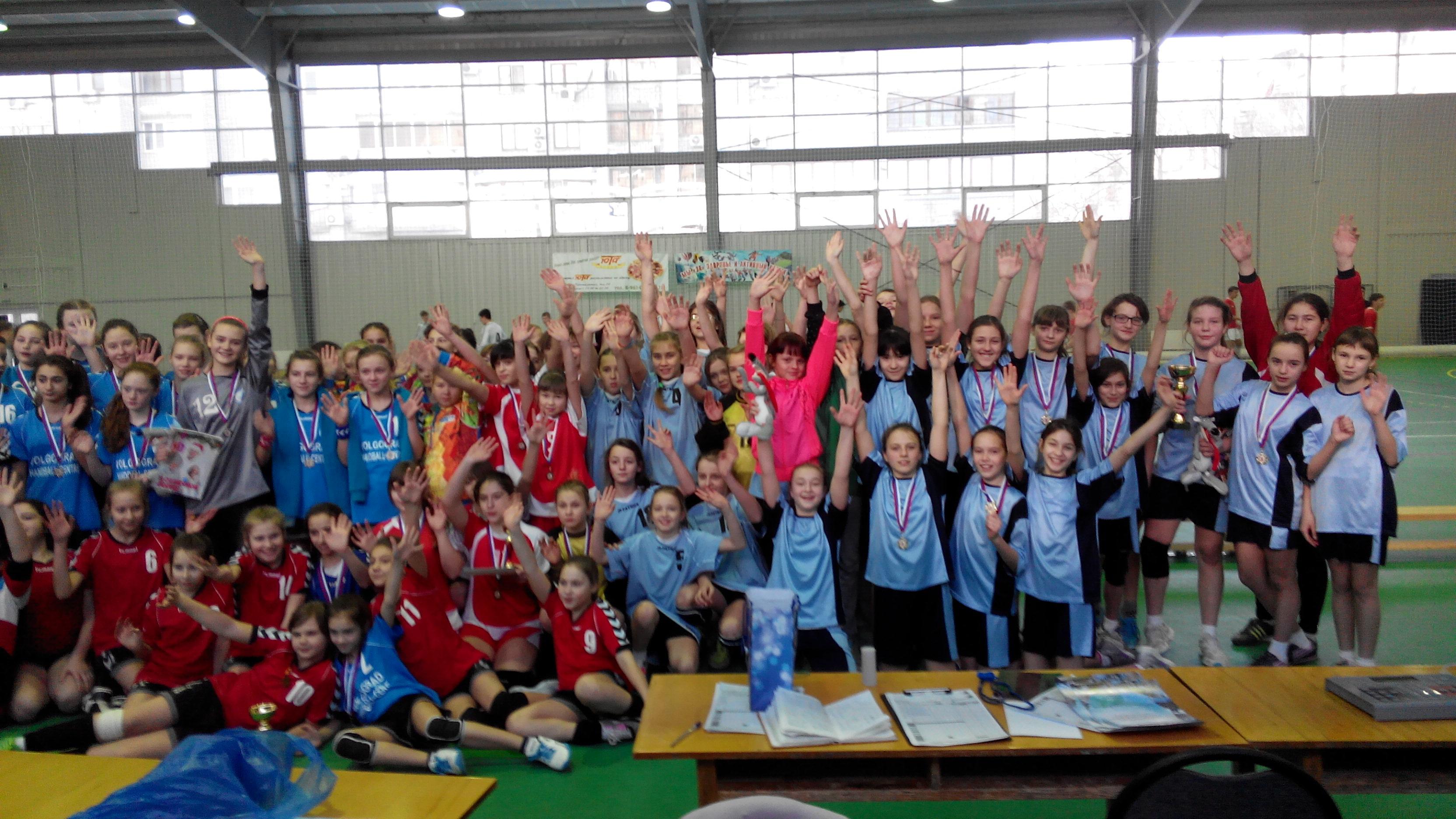 Турниры  в г. Волгограде среди девушек 2001 и 2003 года рождения