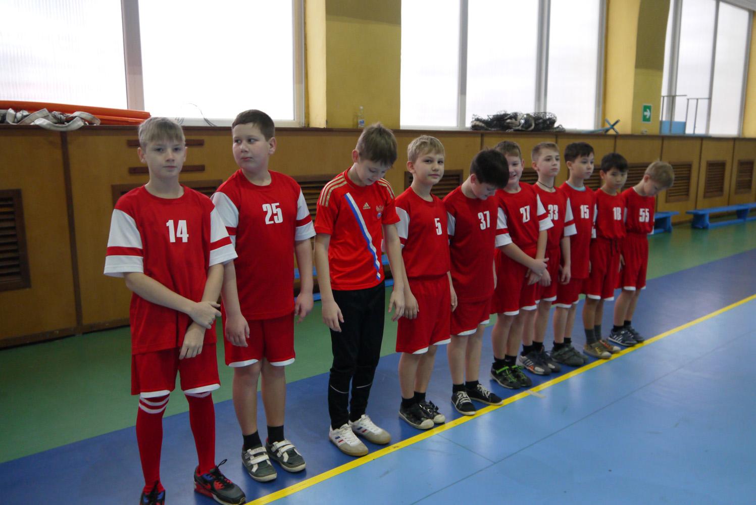 Детская лига по гандболу