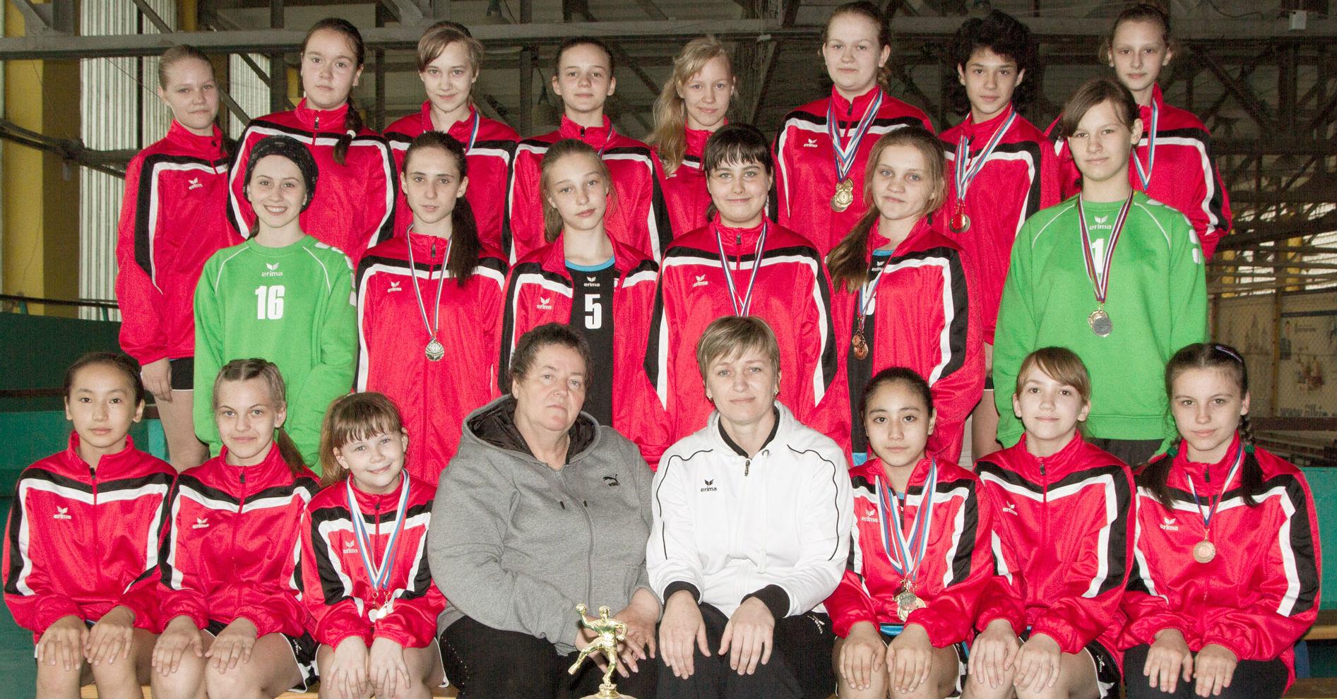 Открытый Всероссийский турнир по гандболу среди команд девушек 2001 г.р.