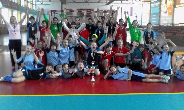 Открытый Всероссийский турнир по гандболу среди команд девушек 2002-2003 г.р.