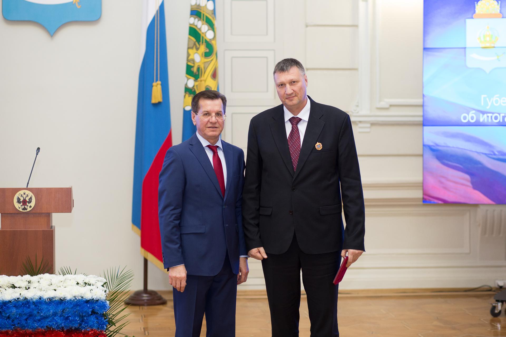 Астраханский губернатор подвел итоги социально-экономического развития области за 2015 год