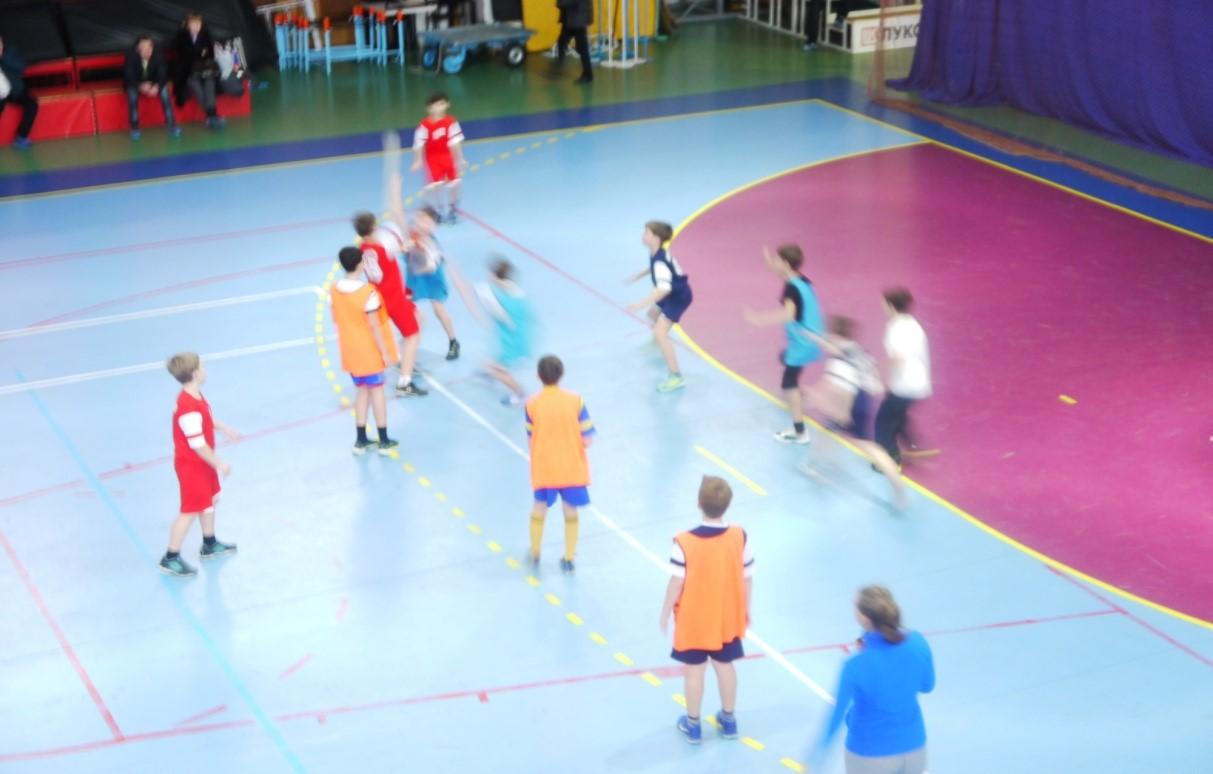 Итоги 1-го  этапа  Всероссийской детской гандбольной лиги