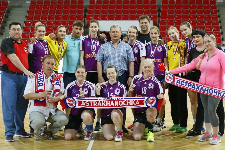 «Астраханочка-2» стала золотым призером национального первенства