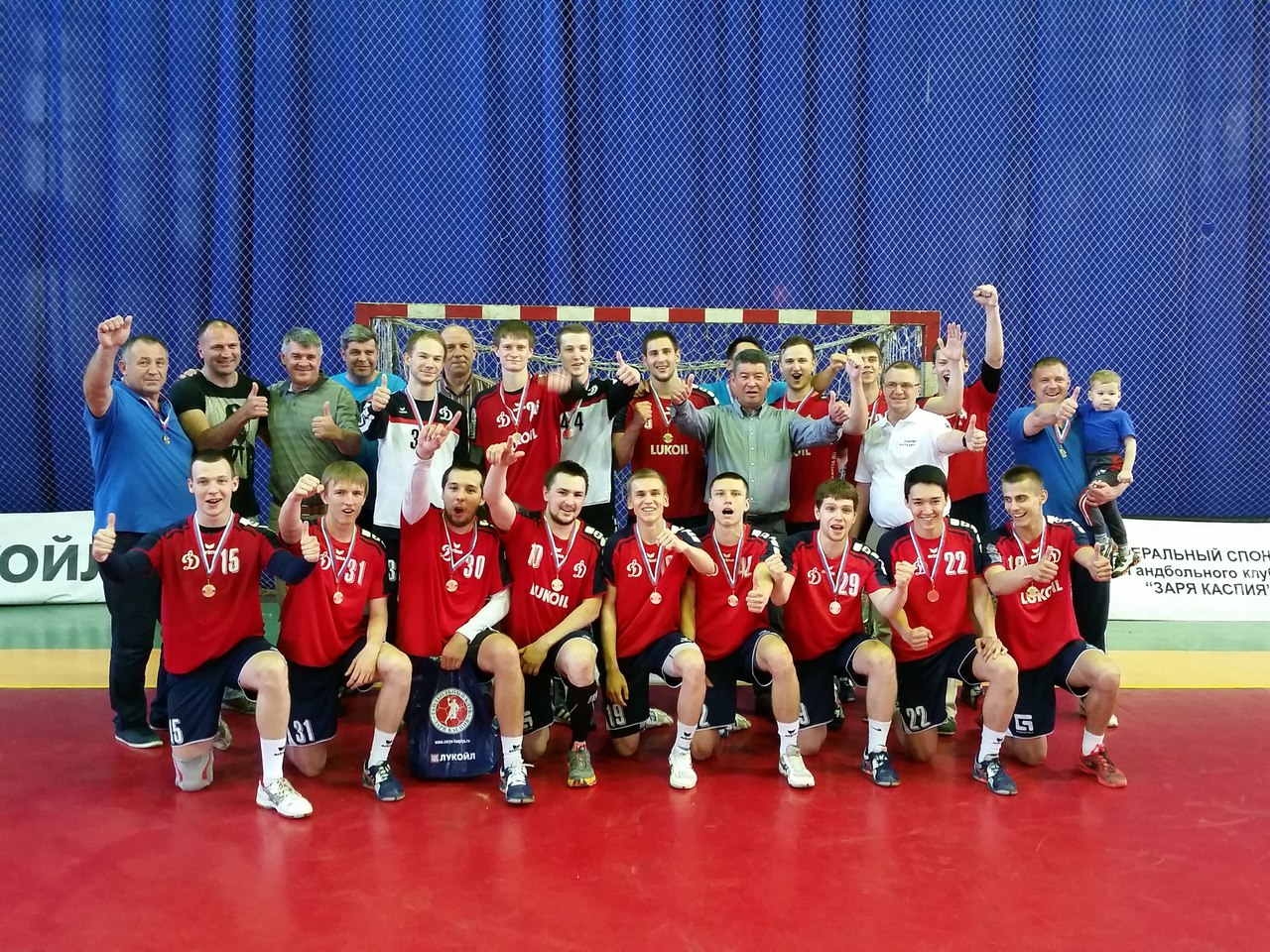 Команда «Авиатор-ОКБ Сухого» —  Чемпионы России по гандболу среди команд мужчин дублирующего состава суперлиги