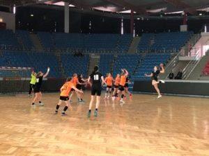 Финал первенства России по гандболу среди девушек старшего возраста