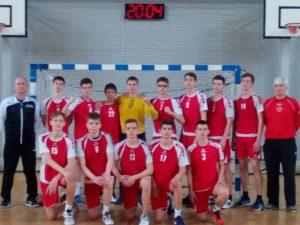 Финал первенства России по гандболу среди юношей до 17 лет