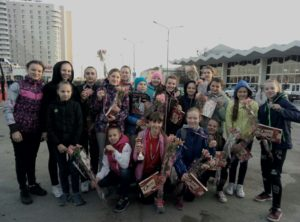Финал первенства России по гандболу среди девушек  11-12  лет