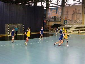 Финал первенства России по гандболу среди девушек  до 16  лет