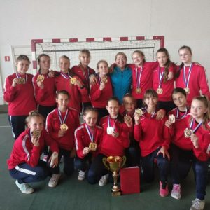 Юные астраханки – победители XVII детского фестиваля по гандболу!