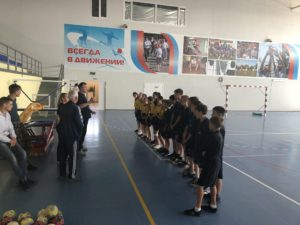 Открытый урок по гандболу в СК «Олимп» пос. Лиман