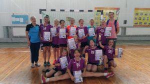 Междугородний турнир по гандболу среди девушек 2007 г.р.